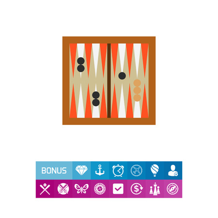 Backgammon game icon