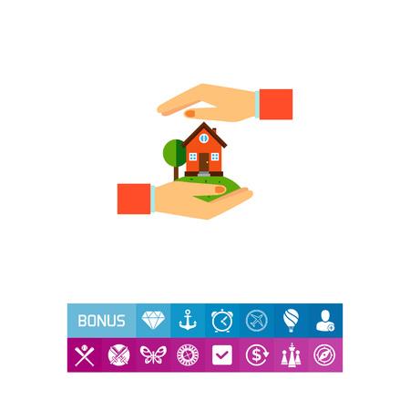 Home Insurance Concept Icon
