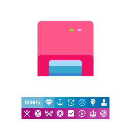 UV light machine icon. Vector illustration.