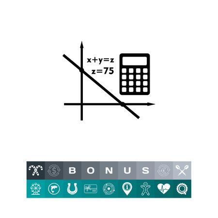 Algebra simple icon