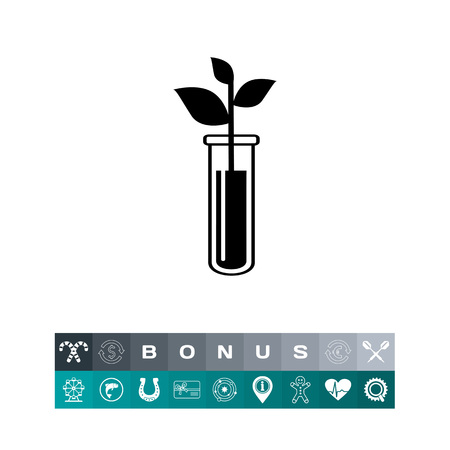 Biotechnology simple icon