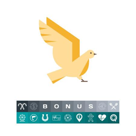 Bird icon Illustration