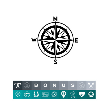 Cartella icona semplice. Illustrazione vettoriale. Vettoriali