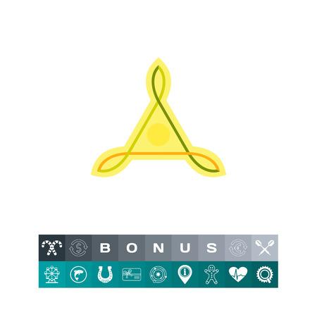 Celtic Knot Icon. Vector illustration. Illustration