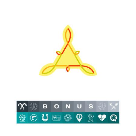 knotwork: Celtic Knot Icon. Vector illustration. Illustration