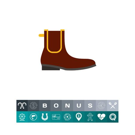 Chelsea boot. Man, leather, classic. Footwear concept. Can be used for topics like footwear, history, fashion.