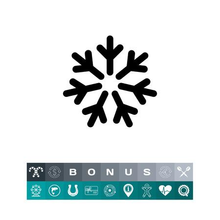 Icône de signe froid Banque d'images - 83410687