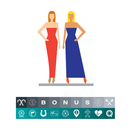 Fashion models 向量圖像