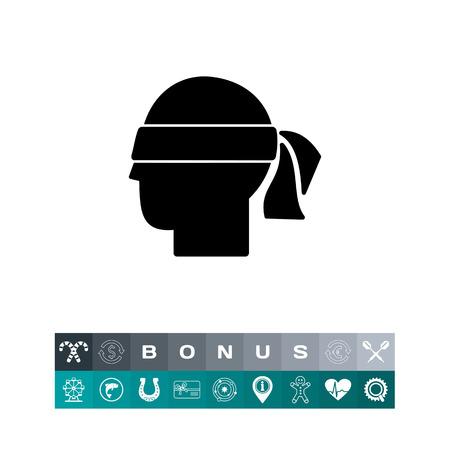 Hunch Simple Icon Vector Illustratie