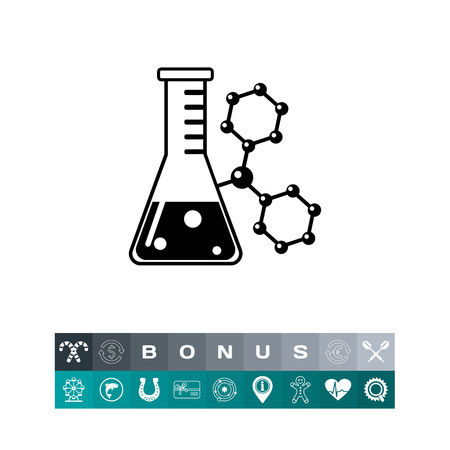 reagent: Flask simple icon