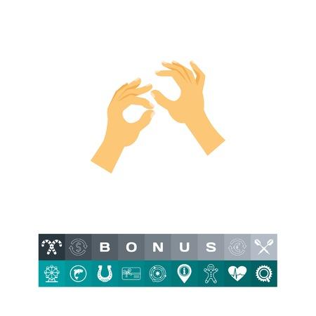 Sign language icon