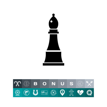 chessman: Chess Bishop Icon