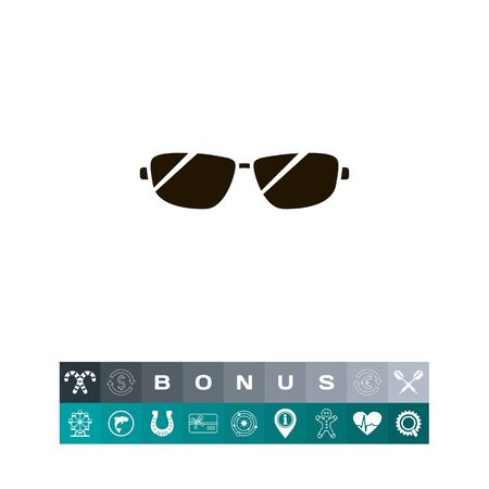Icon of men sun glasses