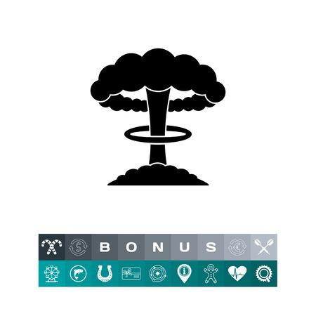 nuke: Nuclear Explosion Icon