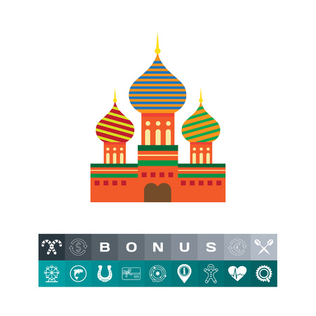 Saint Basil Cathedral icon