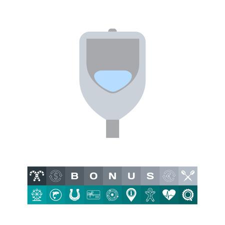 toilet: Urinal icon