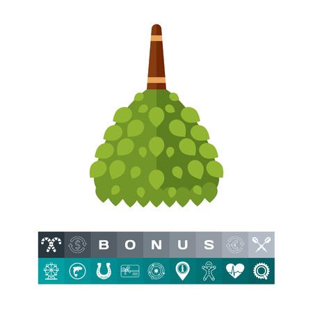 finnish bath: Birch broom icon