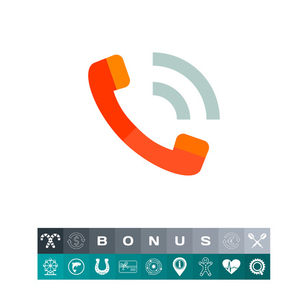 Phone Handset Icon