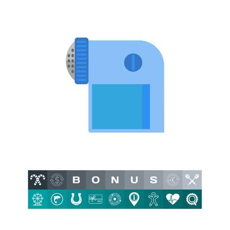 Pocket lint remover vector icon