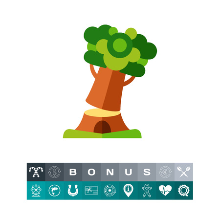 logging: Cutting tree icon