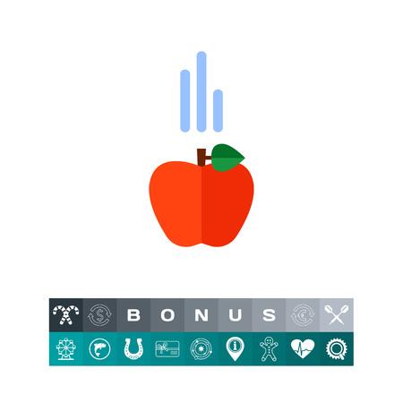 school class: Falling apple icon