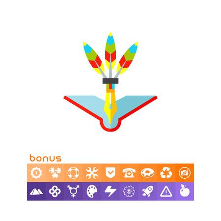 Creative Teaching Concept Icon.
