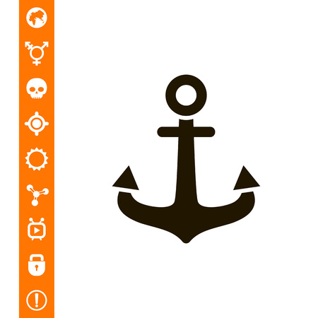 Anchor icon Illustration