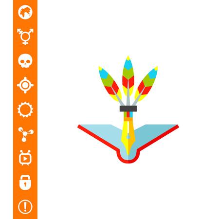 Creative Teaching Concept Icon Illustration
