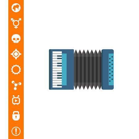 Classic accordion icon