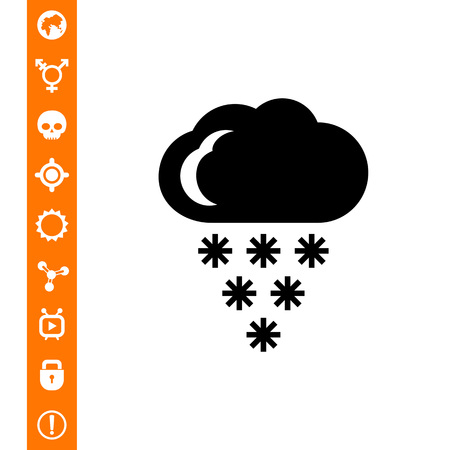 Cloudy with heavy snow