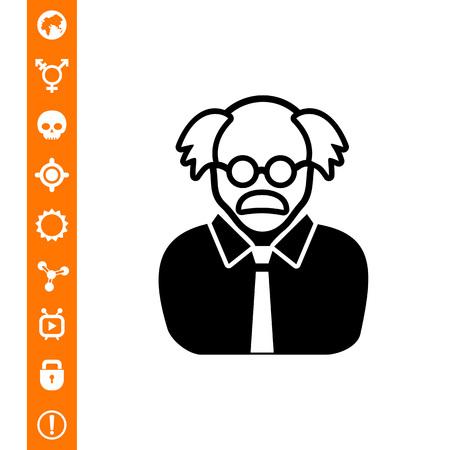 Professor Concept Icon