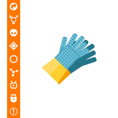 Pair of glove icon.