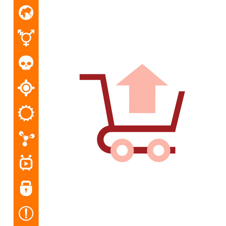 Remove from cart icon Illustration