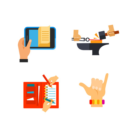 Expressing yourself icon set Vector illustration.
