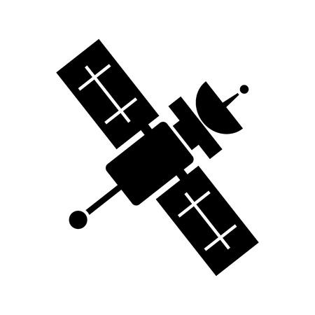 distributing: Artificial satellite icon