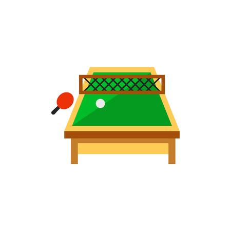Table tennis vector icon Illustration