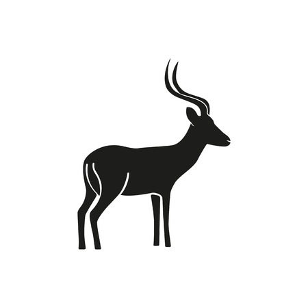 Impala simple icon Illustration