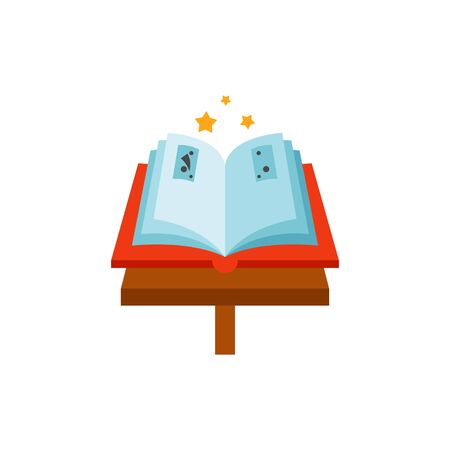 Magic Book Vector Icon