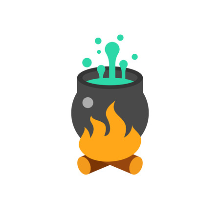 Magic Pot Vector Icon