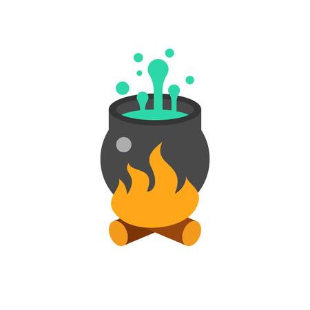 Magic Pot Vector Icon