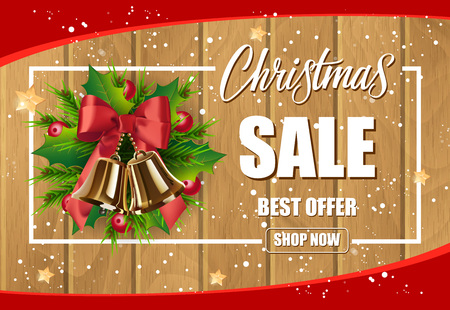 Christmas Sale Best Offer Inscription