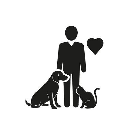 Animals Help Vector Icon