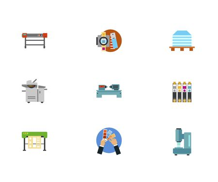 printshop: Typography Icon Set