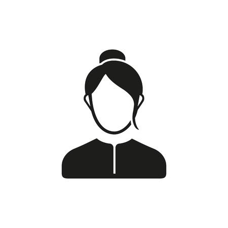 Woman for head teachers office icon