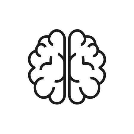 Brain Power Vector Icon Illusztráció