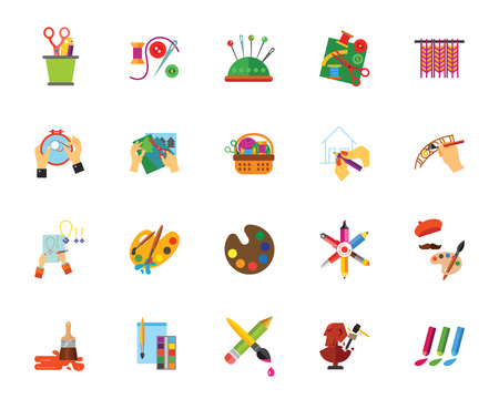 Hobby pictogramserie