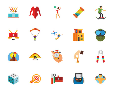 Sport and competition icon set