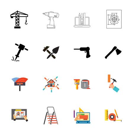 Remodeling icon set
