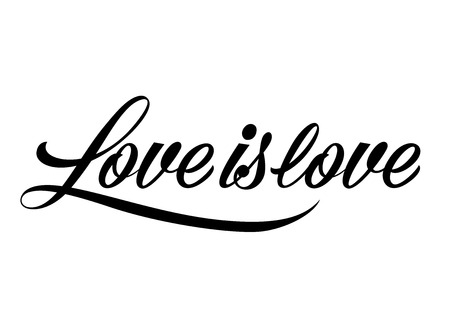 Saint Valentine's day lettering.
