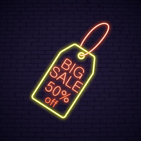 Easter Sale neon signboard